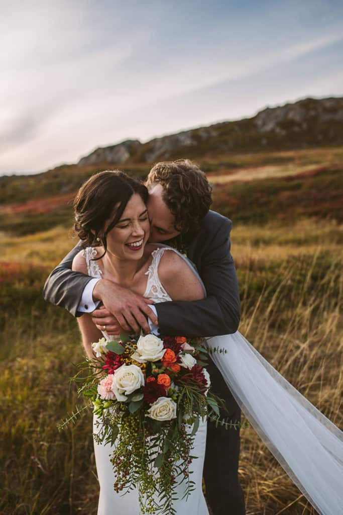fall wedding newfoundland