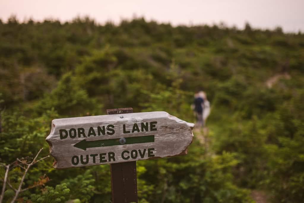 east coast trail dorans lane